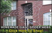 Giant Halloween Spider Web!