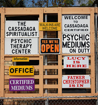 we had never heard of cassadaga until one night when we were watching the harbingers episode of the tv show freakylinks with a little research we - Cassadaga Halloween