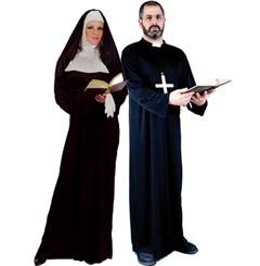 Nun Costumes - Priest Costumes  sc 1 st  Halloween Online & Halloween Costumes - Nun Costume and Priest Costume