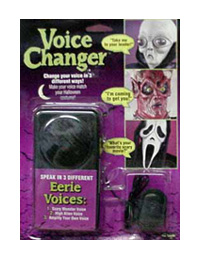 Scary Voice Changer