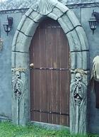 Gothic Arch Door Frame