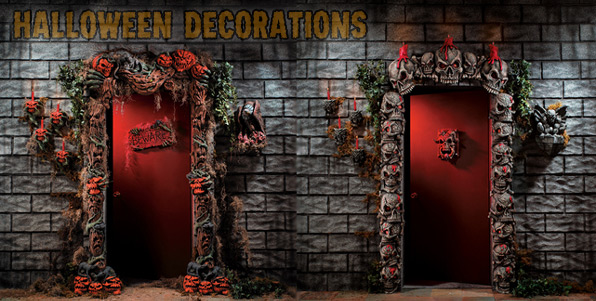 Halloween Wall Decoration Ideas : Halloween decorations and decorating ideas