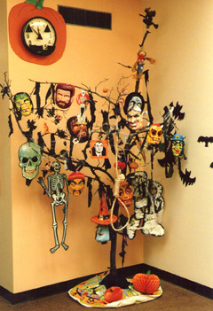 but even if i didnt the next year ray bradbury settled the issue when his book for young people the halloween tree was published by knopf - Halloween Tree Decorations